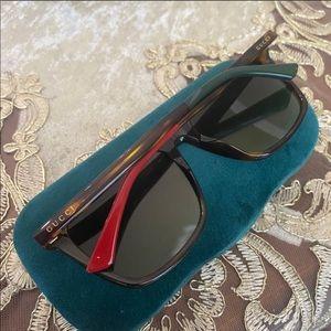Gucci 58MM square sunglasses